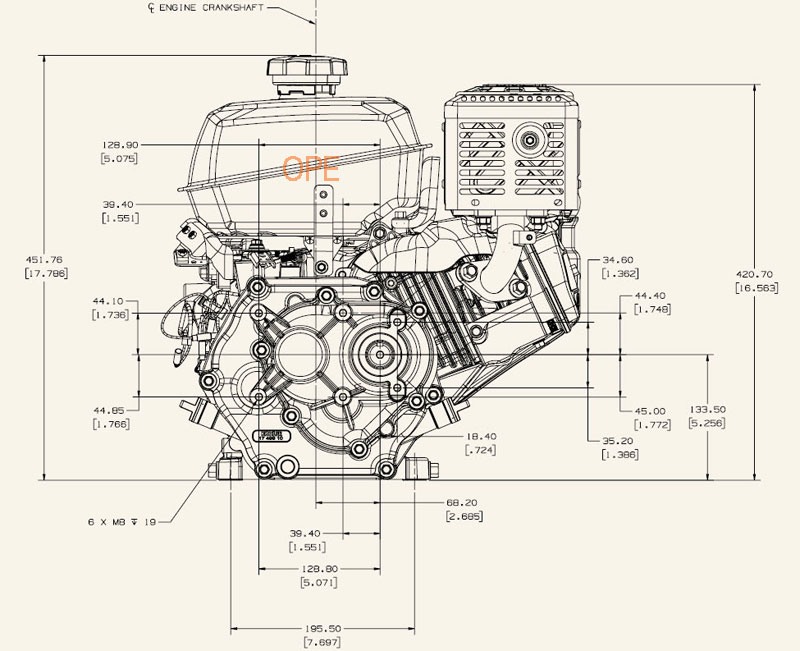 Kohler CH5 CH6 service manual. Command 5 and 6 HP