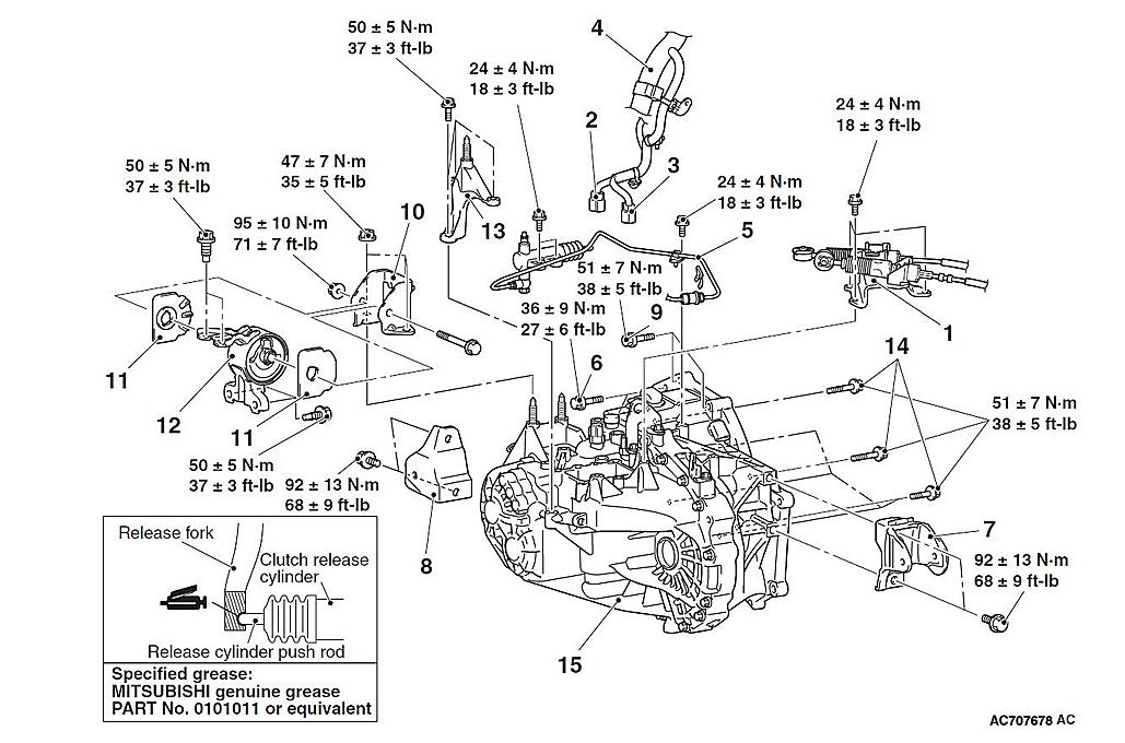 Download 2005 MITSUBISHI Lancer Evolution Service and