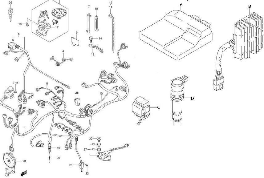 SUZUKI GSX-R1000 Service Repair Manual 2009 2010 Download