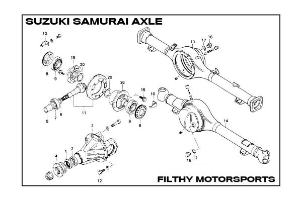 Download SUZUKI SAMURAI Service & Repair Manual (1987 1988