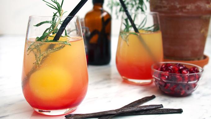 Orange Juice Mocktail Easy Recipe Fun Party Idea The Worktop