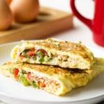 Tuna Omelette Breakfast Low Carb Keto Gf The Worktop
