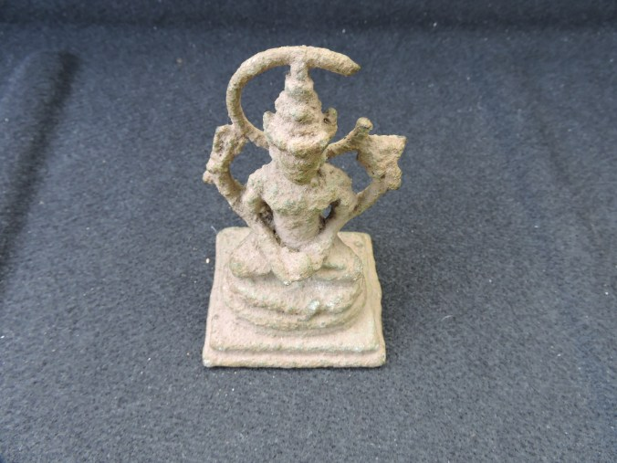 13 Hindu statuette found at Gympie Pyramid