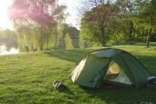 Der beste Zeltplatz überhaupt am Ausee