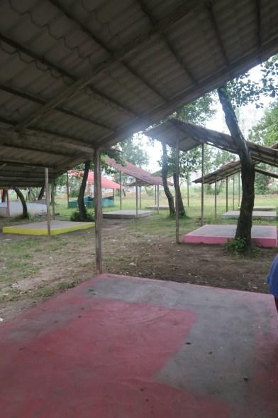 Unser ursprünglicher Zeltplatz