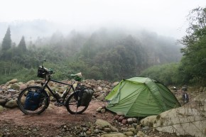 Wildcamp in Sichuan