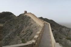 Westliches Ende der Großen Mauer