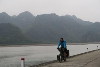 Radfahren auf der Insel