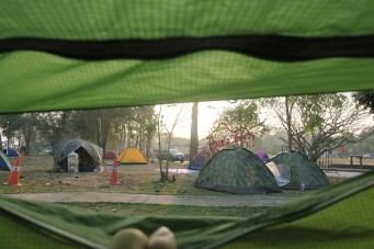 Zelten in Chiang Khan