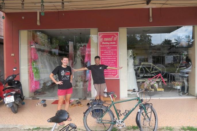 Wedding Studio und Fahrradladen in einem