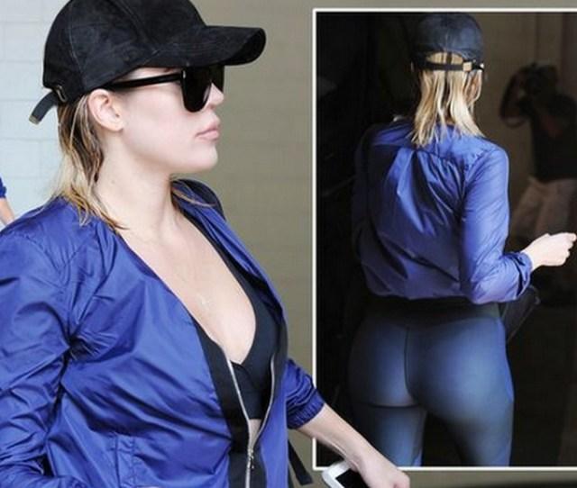 Khloe Kardashian Booty Workout