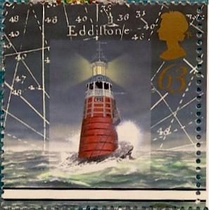 63 p Lighthouse stamp