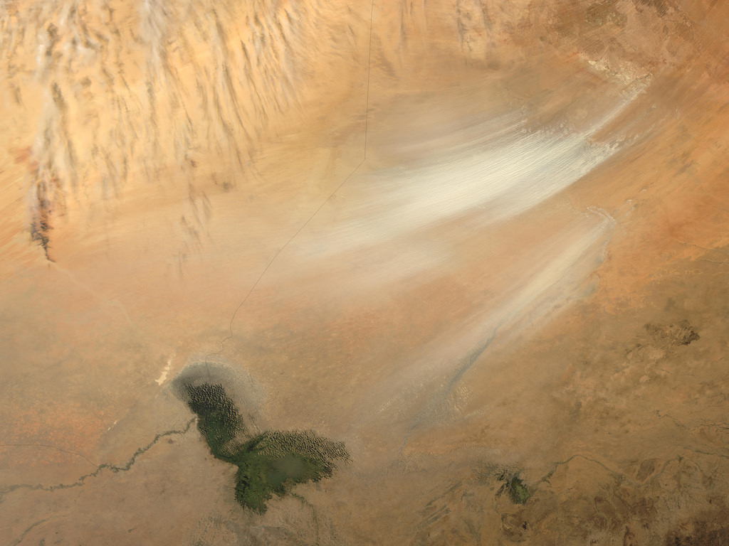 DUST STORM IN BODELE DEPRESSION, CHAD