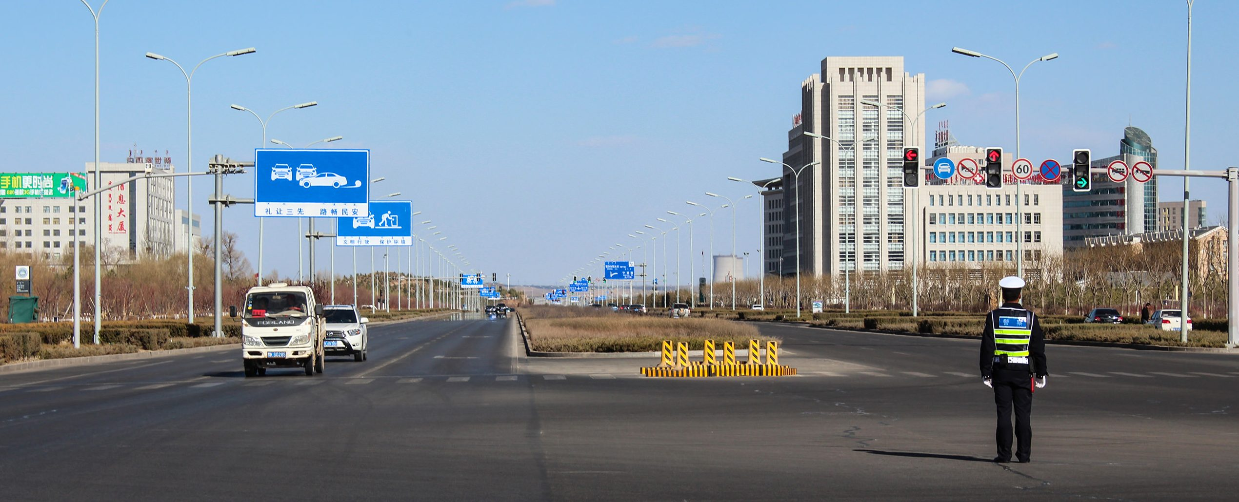 Ordos, China, a Ghost-City: photo by Darmon Richter 2014