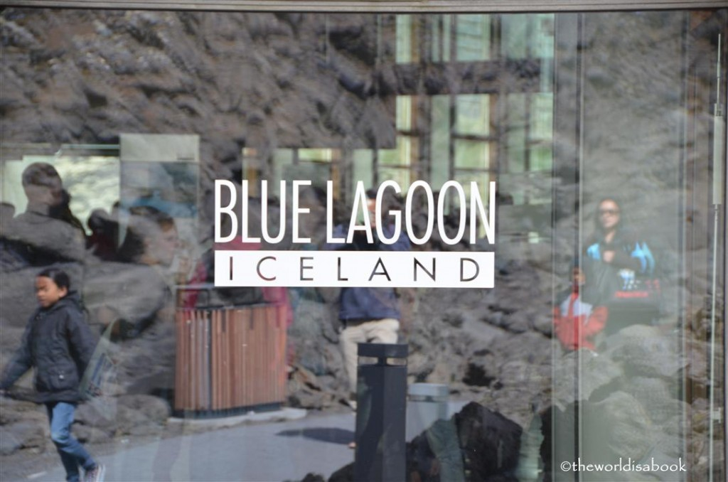Iceland Blue lagoon sign