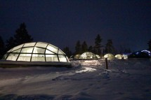 Finland Glass Igloo Village Kakslauttanen