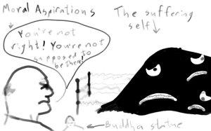 The suffering self