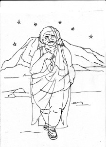 » The Surcadian Oracle Coloring Book The Wormwood Queen