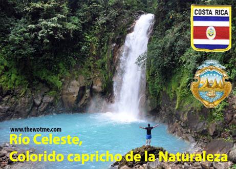 Río Celeste, Colorido capricho de la Naturaleza Río Celeste, Colorido capricho de la Naturaleza rio celeste costa rica
