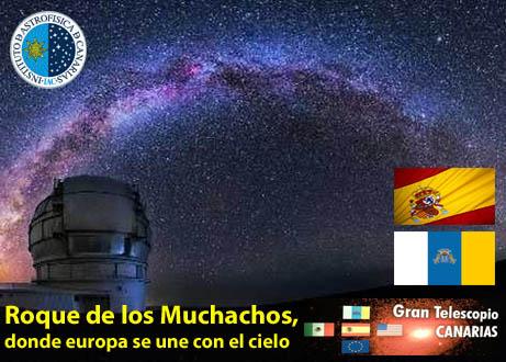 Roque de los Muchachos, donde europa se une con el cielo Roque de los Muchachos, donde europa se une con el cielo roque de los muchachos canarias