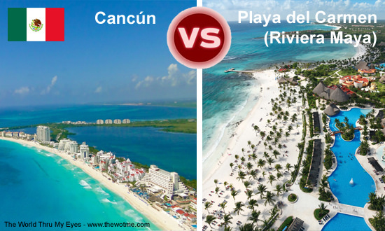 Cancún vs Playa del Carmen - cancun vs riviera - Cancún vs Playa del Carmen (Riviera Maya)