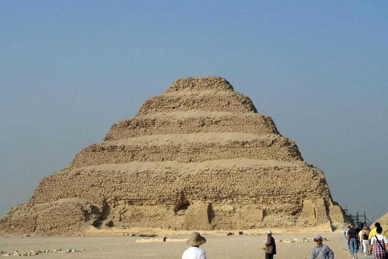 Pirámide escalonada de Zoser en Saqqara, la más sagrada - zoser - Pirámide escalonada de Zoser en Saqqara, la más sagrada