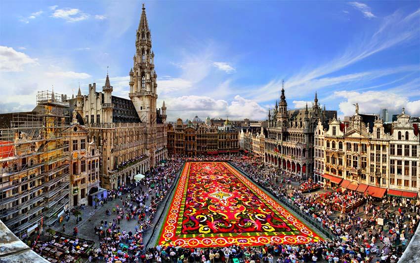 Bruselas en un día Bruselas en un día PLAZA DE BRUSELAS