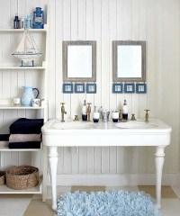 25 Awesome Beach Style Bathroom Design Ideas