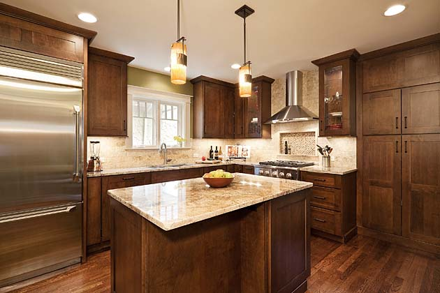 25 Stylish Craftsman Kitchen Design Ideas