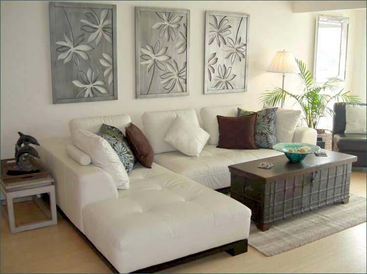 beach living room idea round ottoman decor 21 fantastic style ideas condo