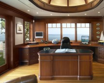 Outstanding Craftsman Home Office Design