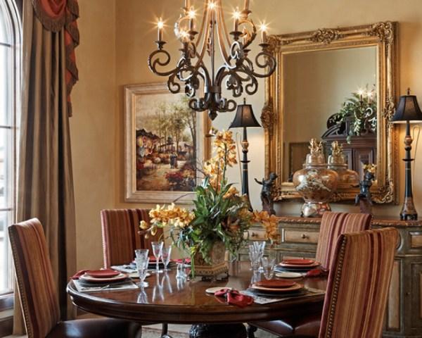 Mediterranean Dining Room Decorating Ideas