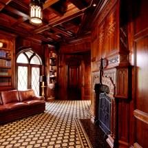 Amazing Mediterranean Home Office Design