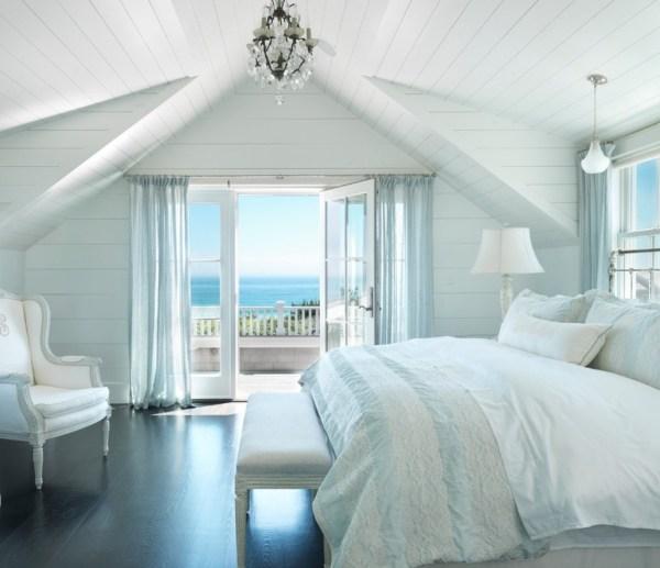 Cool Beach Style Bedroom