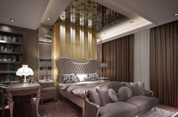 elegant bedroom interior design 25 Sleek and Elegant Bedroom design Ideas
