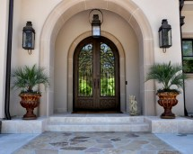 Mediterranean Front Door Design Ideas