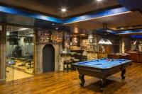 15 Outstanding Rustic Basement Design