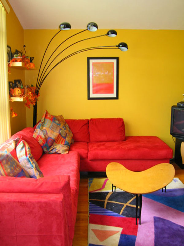 best paint colours for small living room black cabinets 25 colorful design ideas wall colors