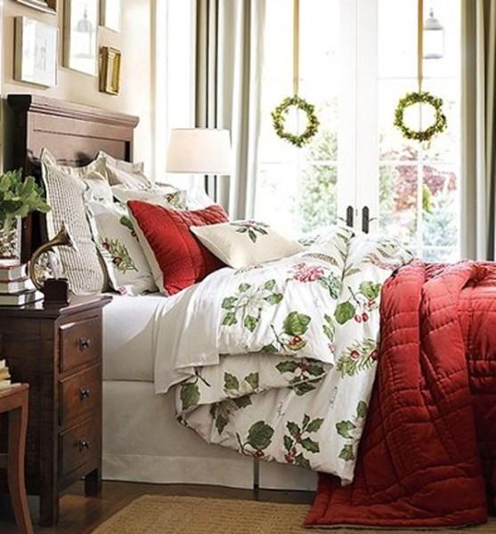 master bedroom decorating ideas christmas 20 Christmas Bedroom Decoration Ideas