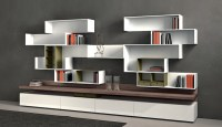 Modern Wall Storage Systems - Interior Design & Decorating ...