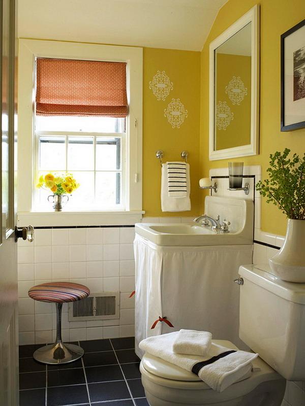 Bathroom Decor Ideas Yellow