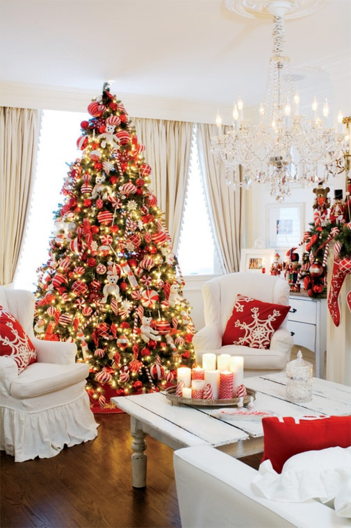how to decorate my small living room for christmas furniture placement large rectangular 50 decor ideas 45