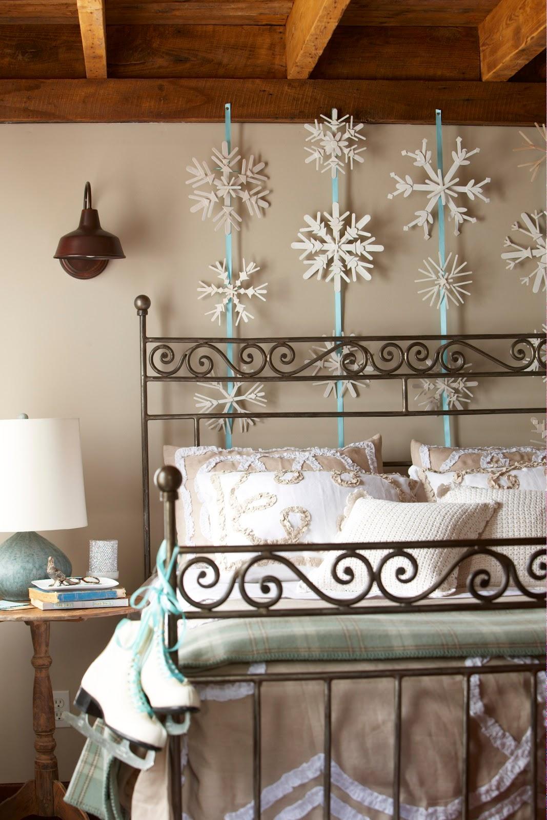 Snowflake Bedroom Decorations