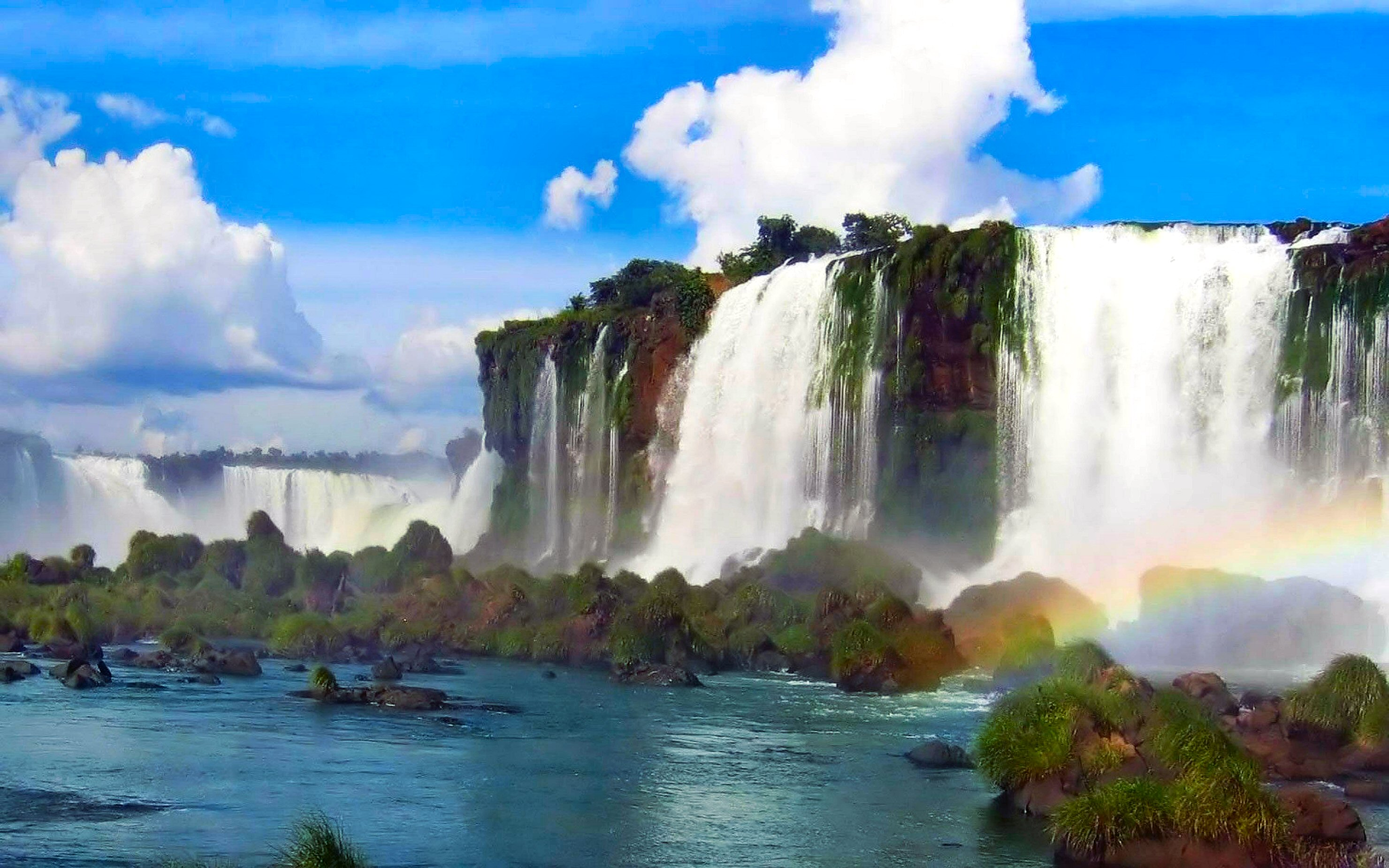 Free Fall Waterfall Desktop Wallpaper Beautiful Waterfall Pictures And Wallpapers The Wow Style