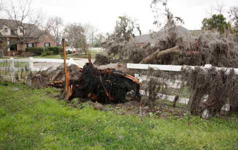 Tornado tears through nearby neighborhoods
