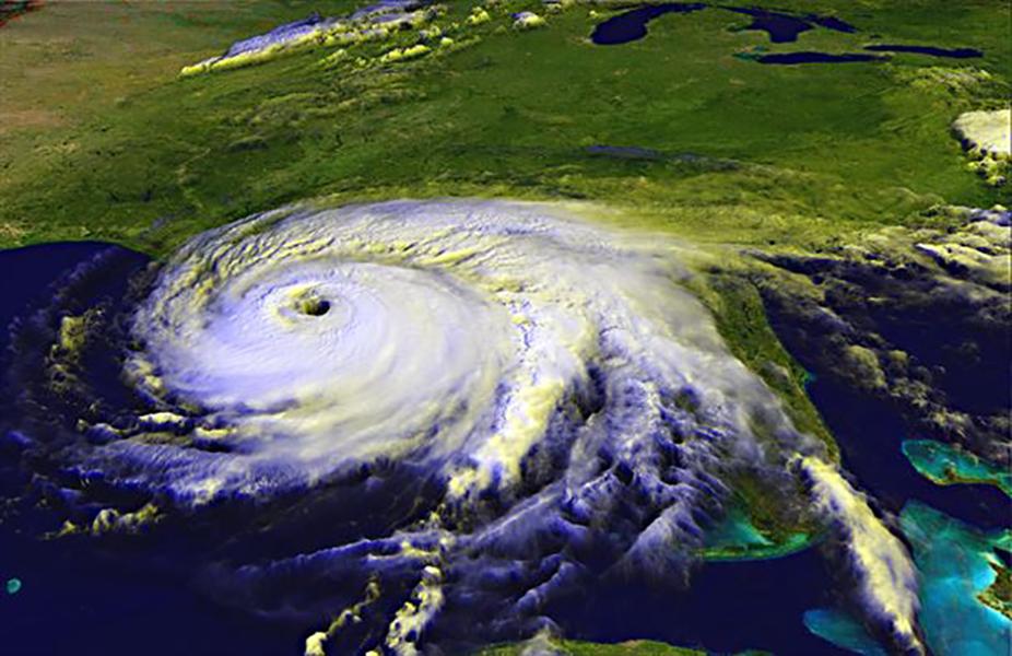 Hurricane radar.