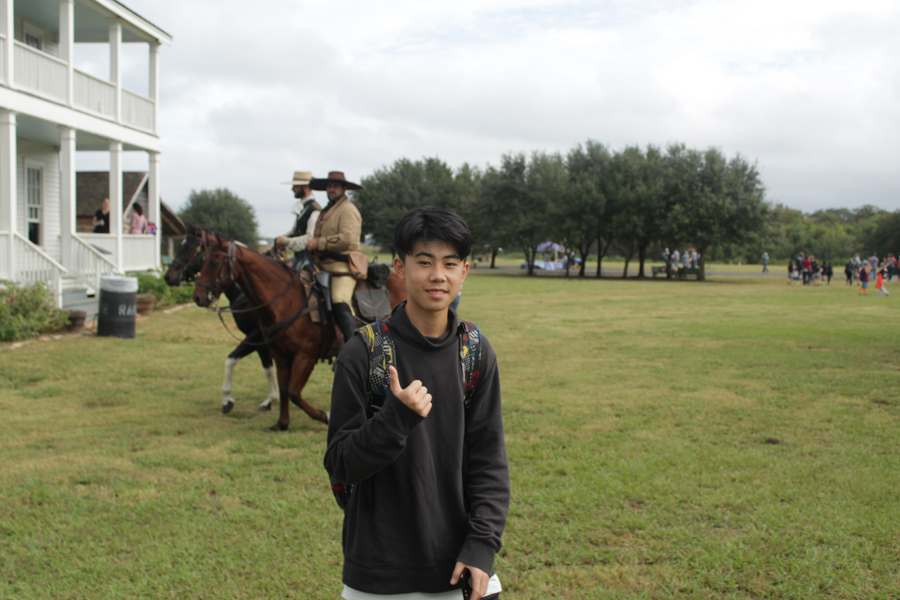 Students from Foshan, China experience George Ranch State Park