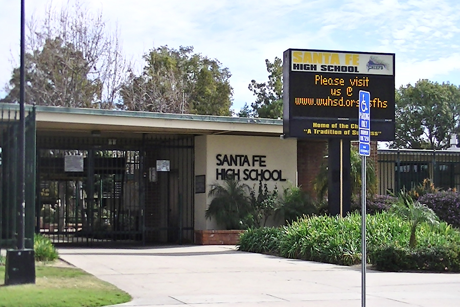 Santa+Fe+High+School