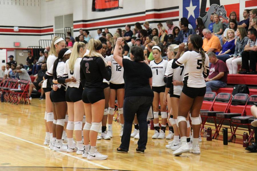 Varsity Volleyball v Stephen F. Austin 8-31-2018