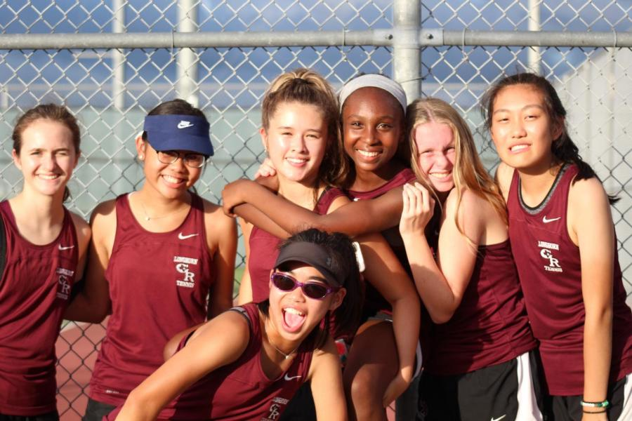 JV  and Varsity Tennis vs. Brazoswood (9/13/18)